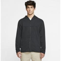 Photo of Hurley Dri-fit Naturals Full Zip Fleece Hoodie for Men – Black Nike