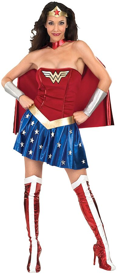 bfa779c69534 Wonder Woman Halloween Costume, Wonder Woman Costumes, Wonder Woman Fancy  Dress Costume, Wonder