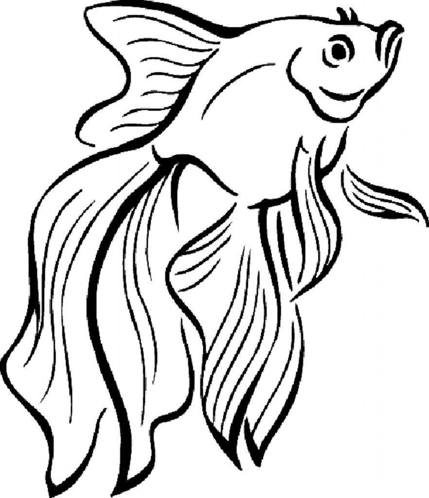 Cute Fish Coloring Pages Bestappsforkids Com In 2020 Fish Coloring Page Fish Drawings Cute Fish