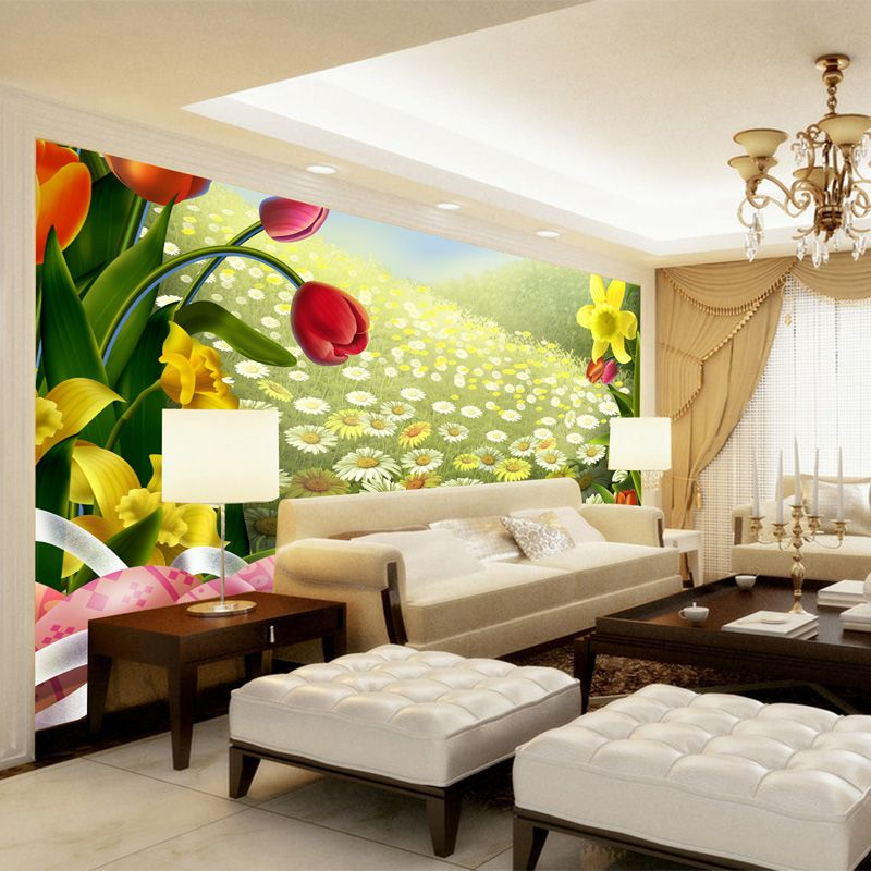 large wall stickers Mural 3d wall paper three dimensional