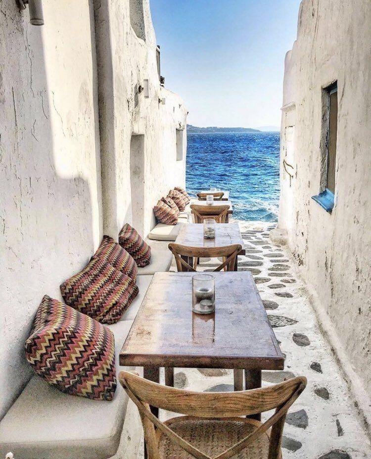لو ن حياتك Color On Twitter Places In Greece Mykonos Greek Islands Vacation