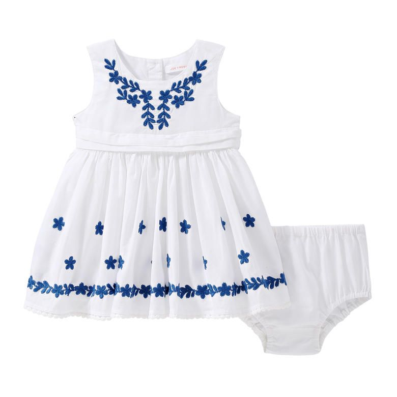 YiZYiF Baby Girls Embroidered Christening Baptism Dress Formal Party Gowns  with Hat
