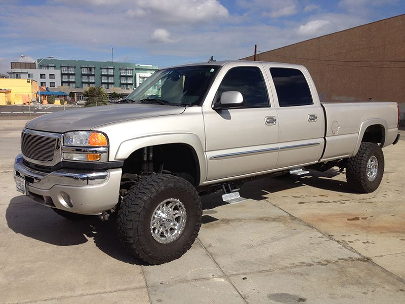 2006 6 6l Duramax 2500hd 4wd Crew Cab Long Bed Prxb