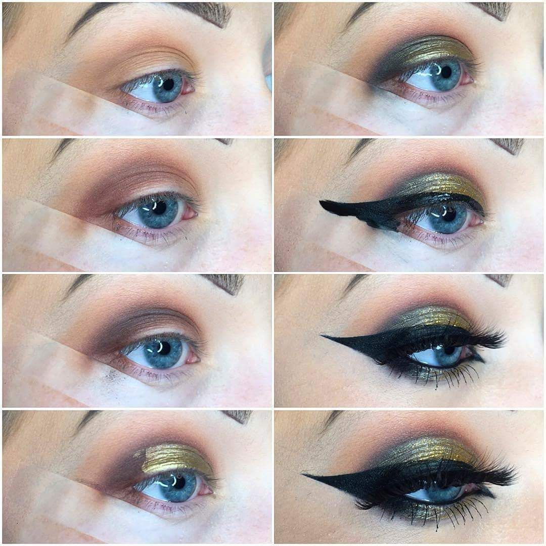 23 amazing golden smokey eye makeup tutorials for eyes that speak 23 amazing golden smokey eye makeup tutorials for eyes that speak baditri Image collections