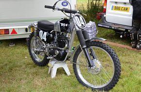 1966 BSA GP Factory Works Bike