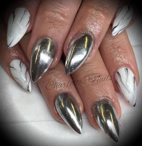 Available Now Fda Roved Silver Chrome Pigment Powder Aka Mirror Gelish Nails