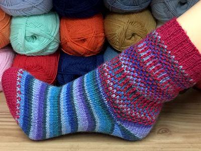 Socke *Ordinate* von Birgit Freyer - knitting pattern | My socks ...