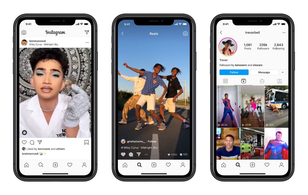 How To Use Instagram Reels New Tiktok Competitor Filtergrade Instagram Popularity Instagram Instagram Influencer