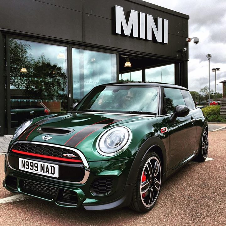 British Racing Green Mini Jcw