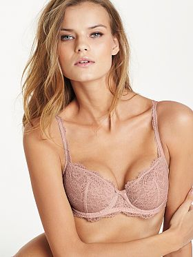74235843f Dream Angels Unlined Lace Demi Bra | Lingerie