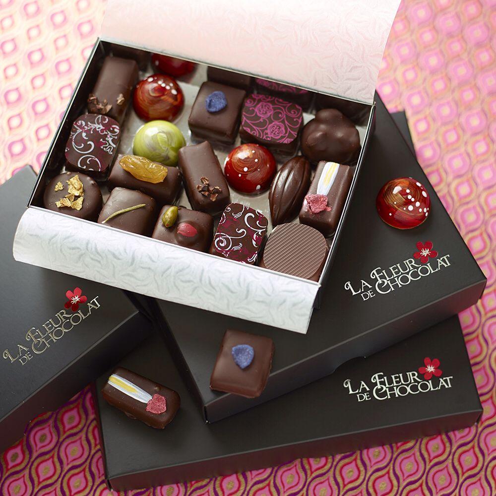 La Fleur de Chocolat chocolate boxes www.lafleurdechocolat.co.uk ...