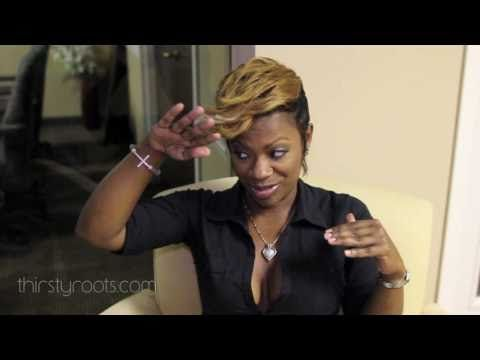 Excellent 27Pc Short Weave Kandi Burruss 2010 Interview Leave You And Hairstyles For Women Draintrainus
