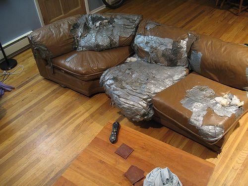 Captivating Duct Tape Furniture Repair