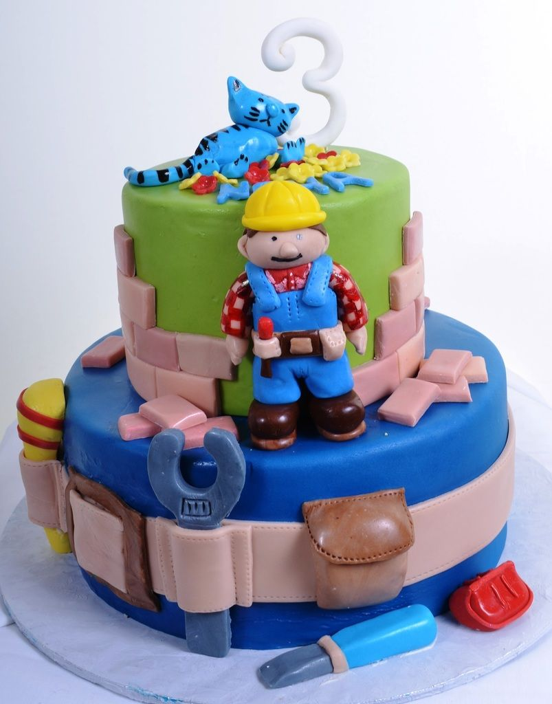 Pastry Palace Las Vegas Kids Cake 820 Bob the Builder Kids
