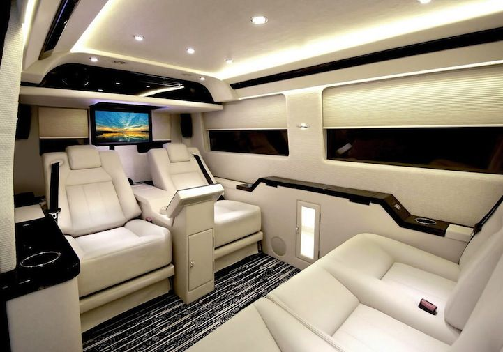 Ordinary Van S Shocking Luxury Interior Luxury Van Luxury Car