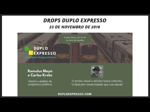 Drops Duplo Expresso 23nov2018 Youtube Noticias E Atualidades