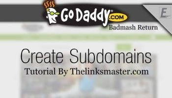 |HINDI| How to Create a SubDomain on GoDaddy Using Cpanel | Step by Step Explained | 2017