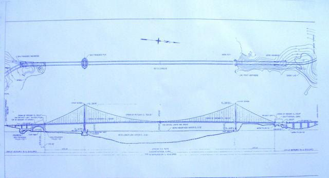 Golden gate bridge in san francisco blueprint by blueprintplace golden gate bridge in san francisco blueprint by blueprintplace malvernweather