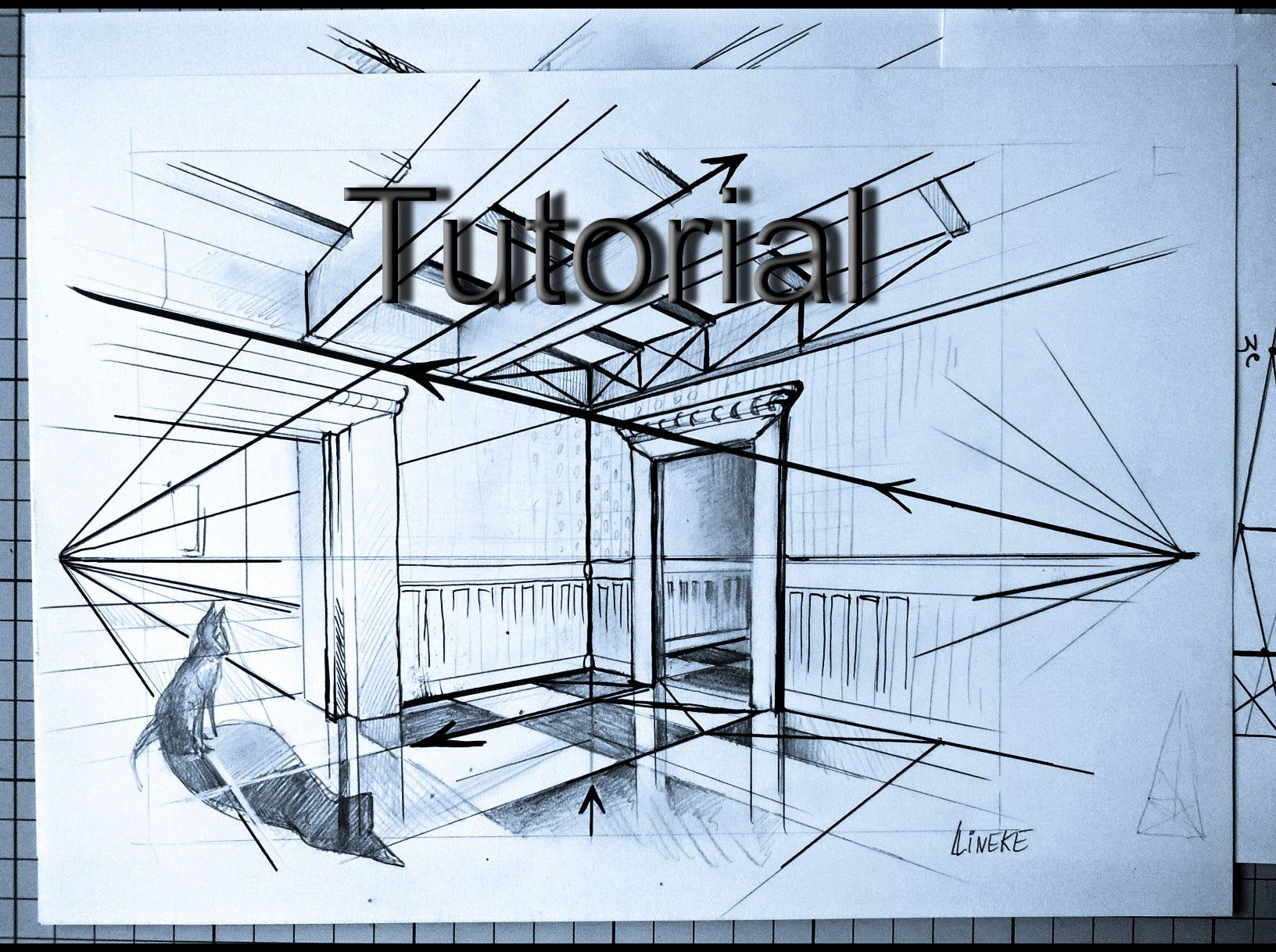 How To Draw Two Point Perspective Very Easy Tutorial For Beginners Youtube Drawing Interior Interior Design Drawings Interior Design Sketches