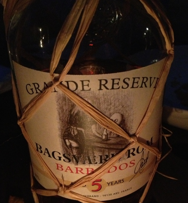Grande Reserve Barbados Aged 5 Years. Nice spicy flavour