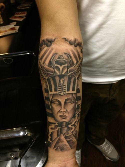 egyptian sleeve tattoo - google