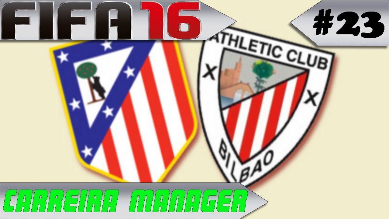 Carreira Manager #23 Atlético de Madrid x Athletic Bilbao