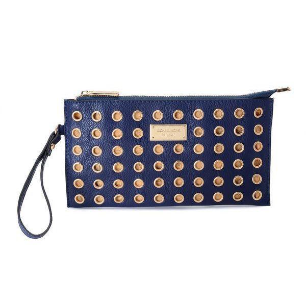 Michael Kors Colgate Grommet Large Navy Wallets | Trendy Women Fashion.$66  | Bag lady, u gon hurt yo back | Pinterest | Handbags michael kors, ...