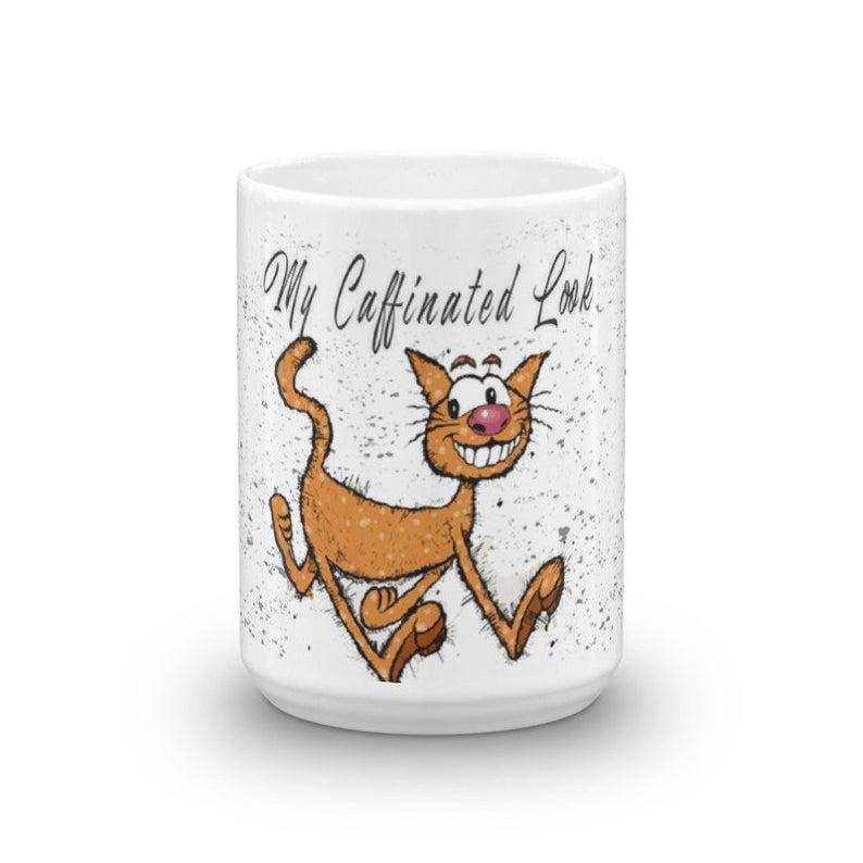 15 oz Funny Cat Coffee Mug|Funny Coffee Mugs|Comic Coffee Mugs|Funny Quotes Coffee Mug|Funny Quote Mugs|Funny Saying Mug|Cat Cartoon Mug #funnycoffeemugs