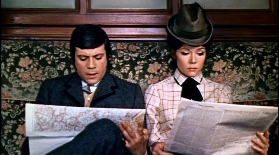 the assassination bureau with oliver reed and diana rigg 1969 film assassination bureau. Black Bedroom Furniture Sets. Home Design Ideas