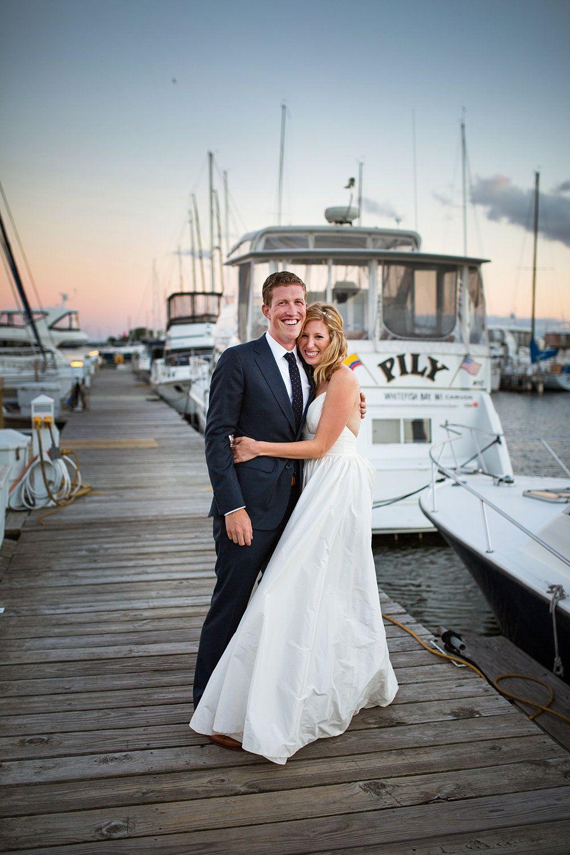 Nautical Milwaukee Yacht Club Wedding | Real Lea-Ann Belter Brides ...
