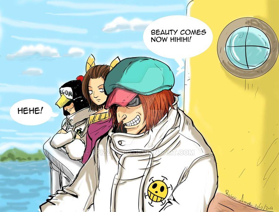 Fan art Penguin, Annabel (oc) Shachi Heart Pirates, One