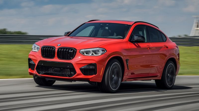 2020 Bmw X4 M Compact Crossover First Drive Review With Images