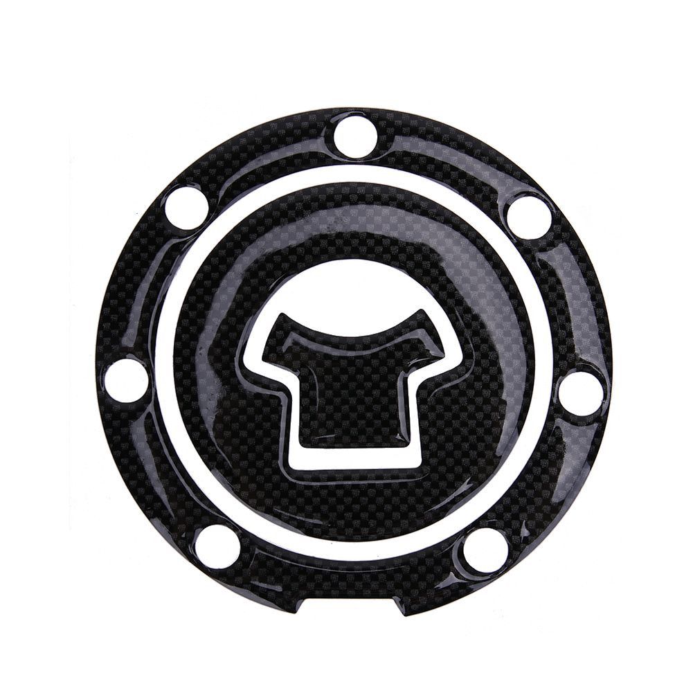 1pcs Motorcycle Sticker Fuel Gas Cap Cover Pad Sticker For Suzuki Honda Yamaha Kawasaki Black Car Decal Pr Motorcycle Stickers Black Car Motorcycle Accessories [ 1001 x 1001 Pixel ]