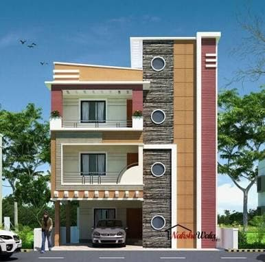 Front elevation designs for duplex houses in india google search also rh pinterest