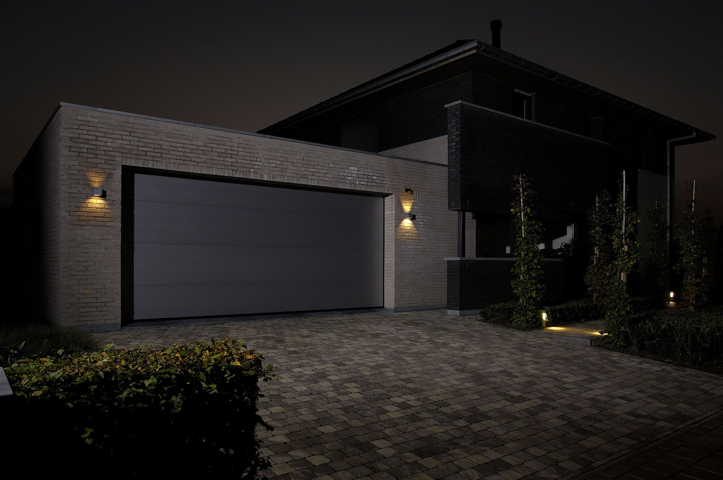 Lovely Led Outside Garage Lights