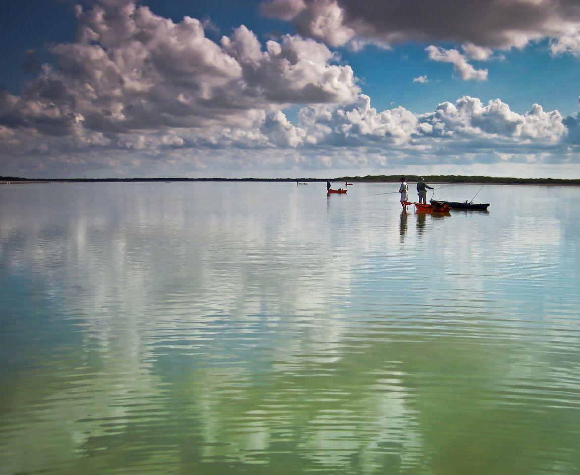 Texas coast fly fishing baffin bay terry rascoe kayak for Texas coast fishing