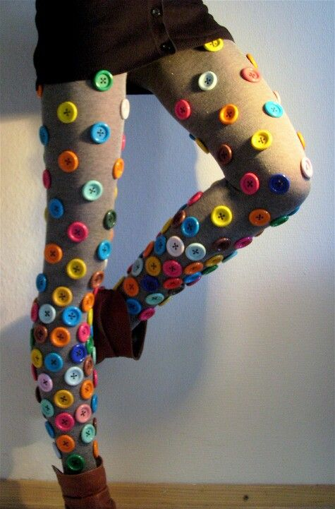 Button leggings