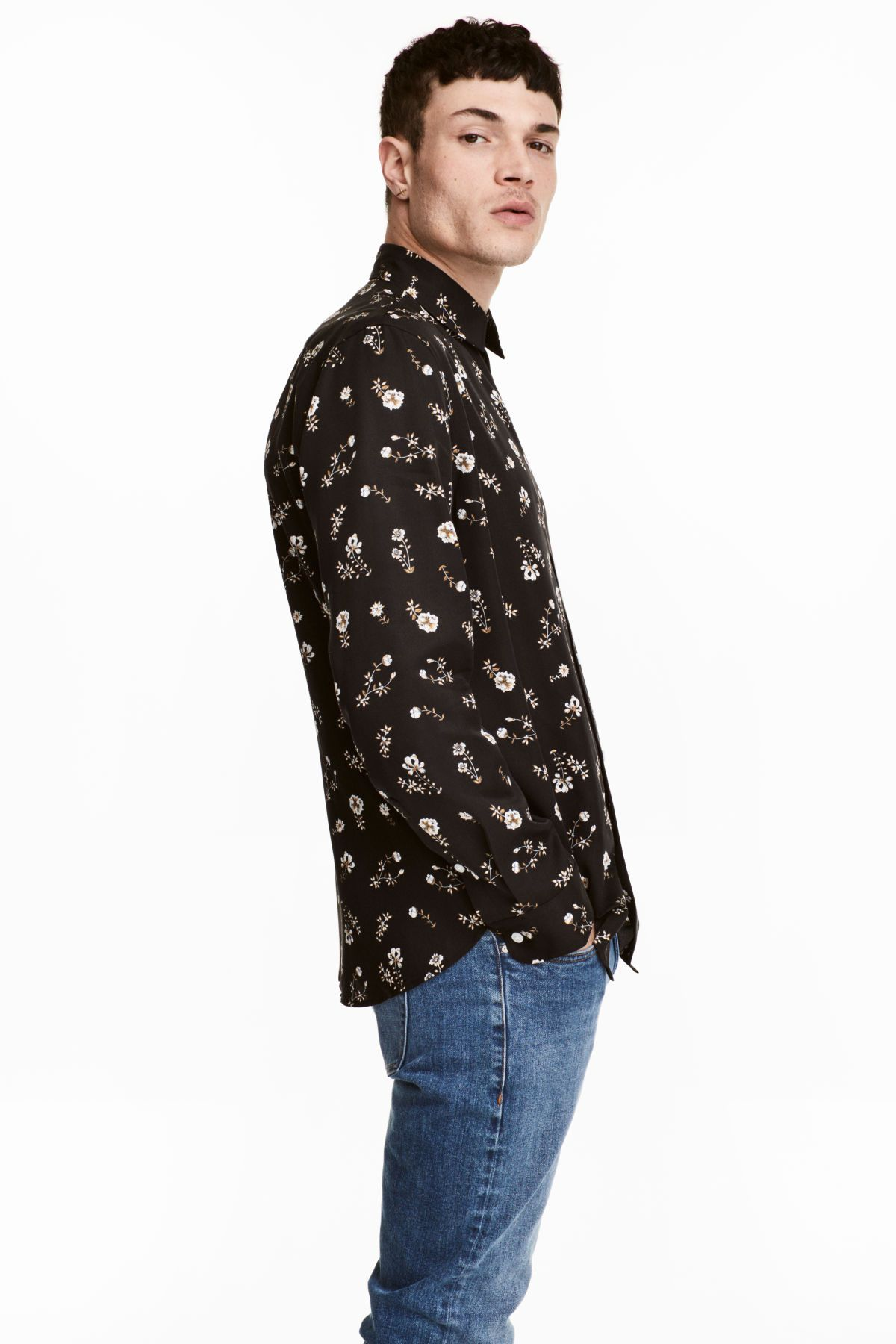 e813896cf1 Lyocell Shirt Regular fit
