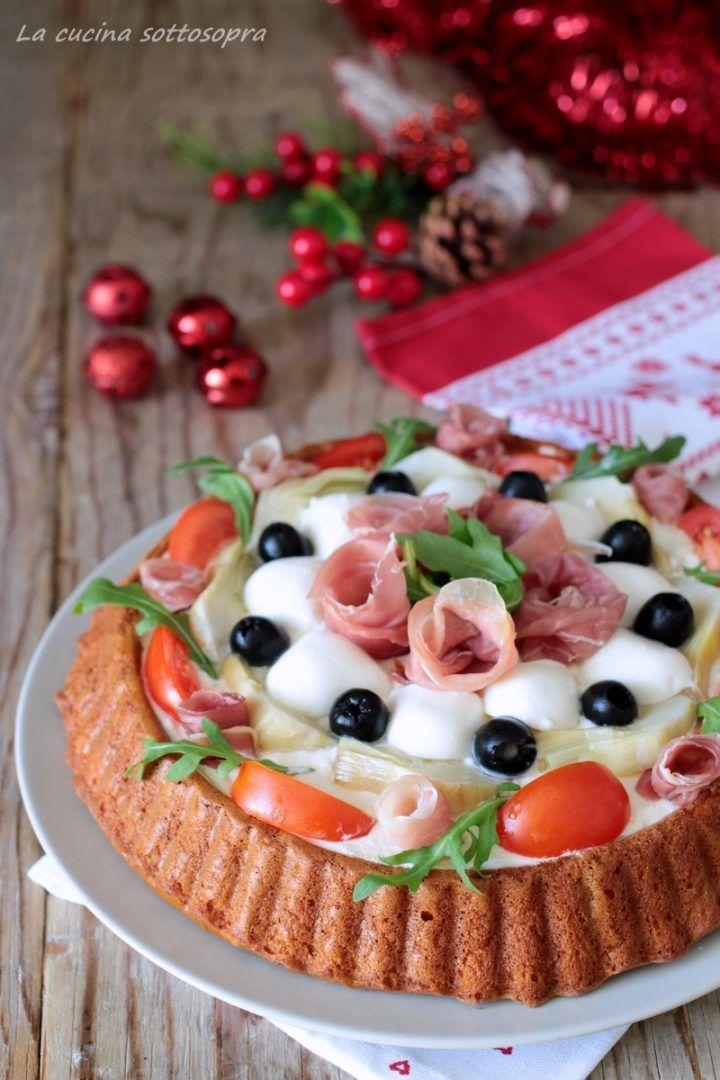 Crostata salata morbida al prosciutto crudo - con e senza Bimby | La cucina sottosopra #crostatamorbida