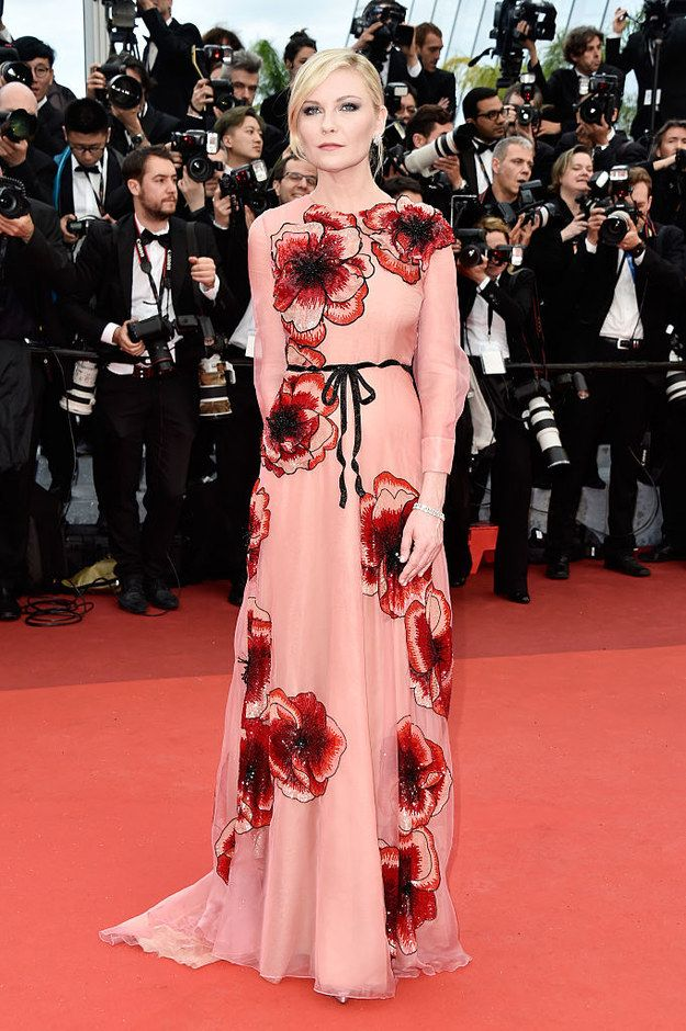 Kirsten Dunst | Here's What Everyone Wore To The 2016 Cannes Film Festival