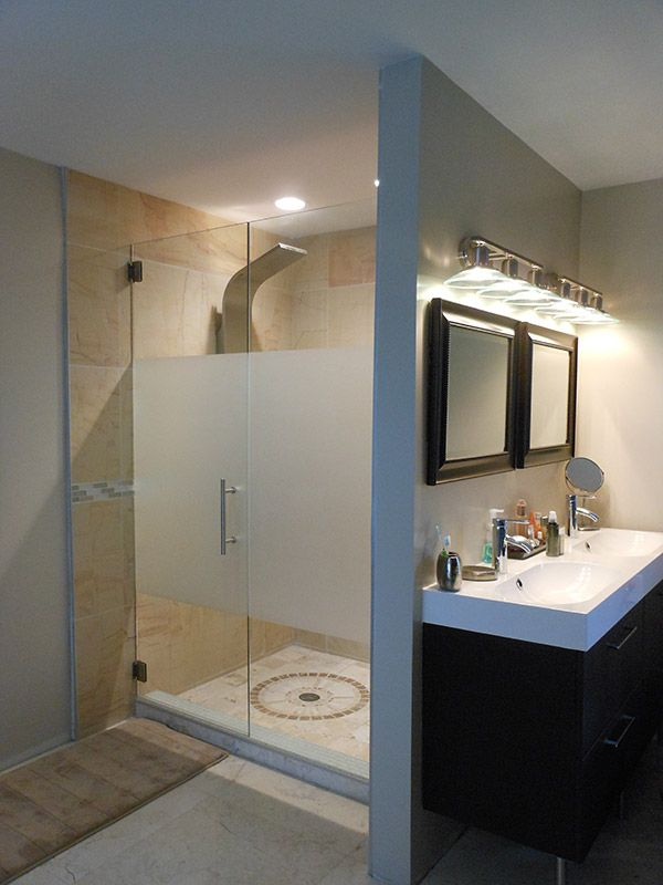 Inline Door Panels 104 With Images Bathroom Shower Doors
