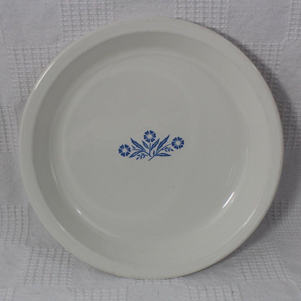 Corning Ware Blue Cornflower Pie Plate P-309 9 Inch Plate #CorningWare & Corning Ware Blue Cornflower Pie Plate P-309 9 Inch Plate | Pie plate