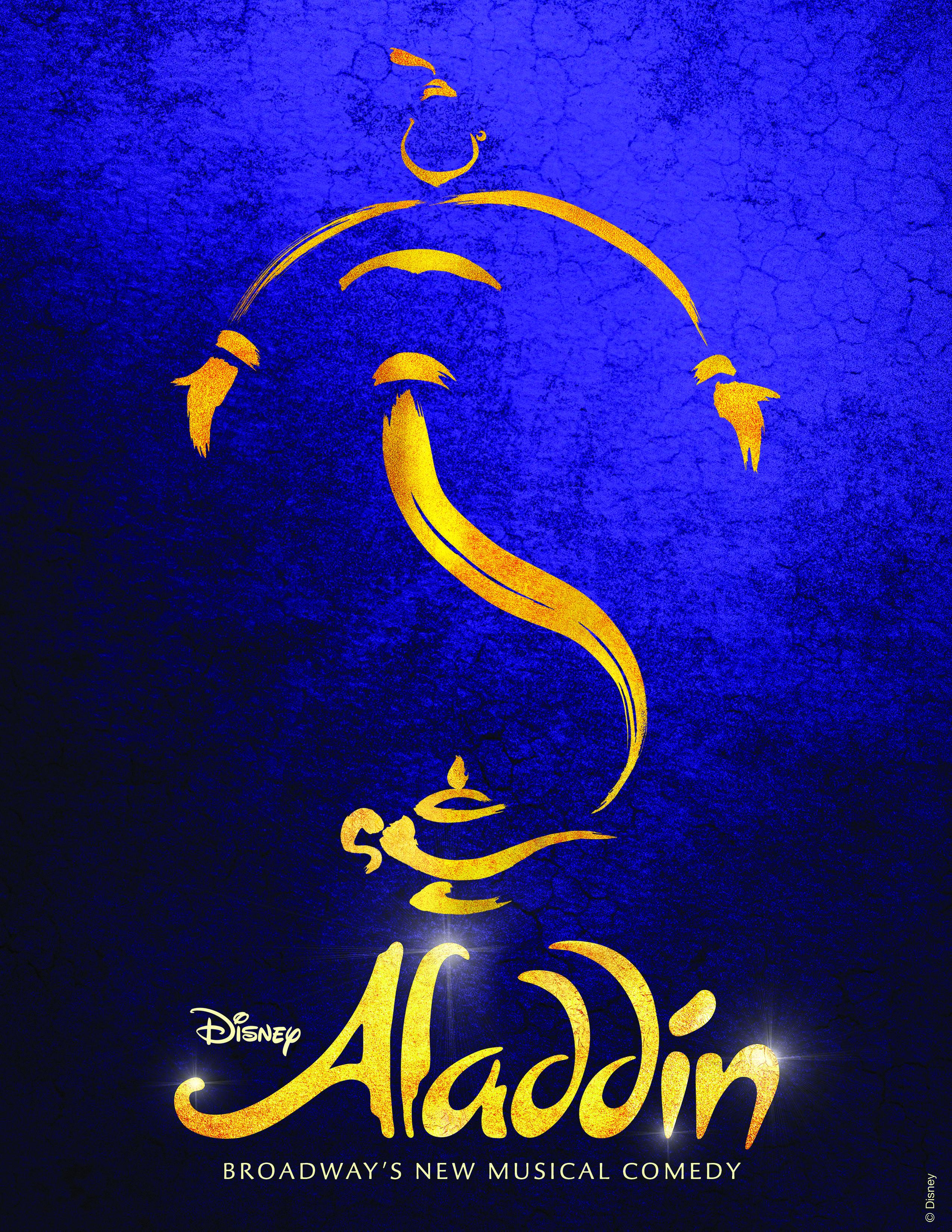 disney aladdin musical poster