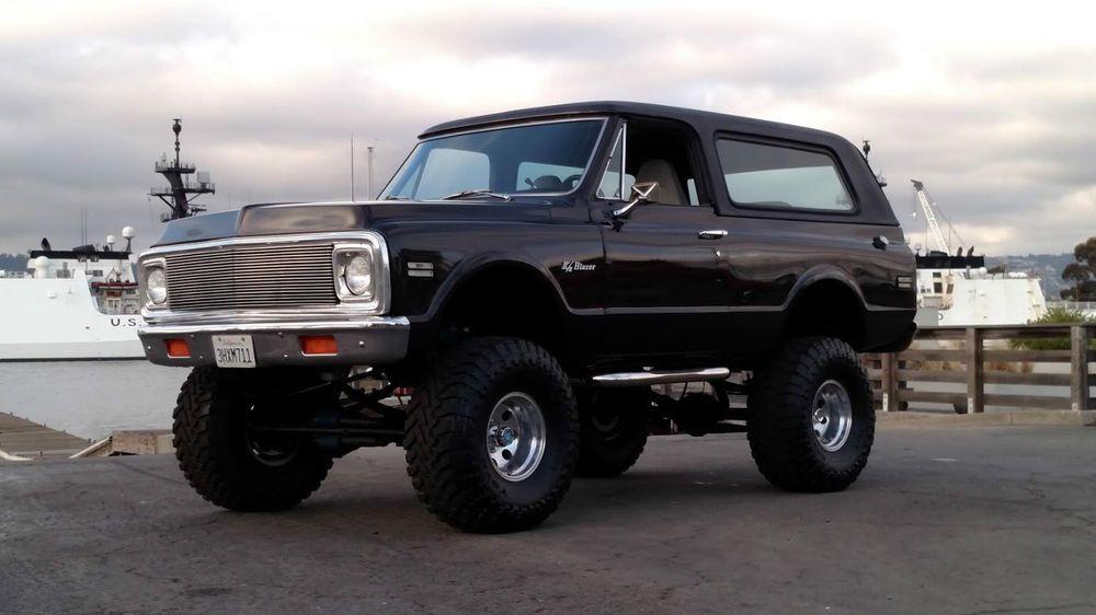 1972 Chevrolet Blazer Blazer K5 Fuel Injected A C 4x4 4wd