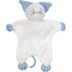 Under The Nile Organic Egyptian Cotton Terry Cat Toy Teether Doll ... 8814831915