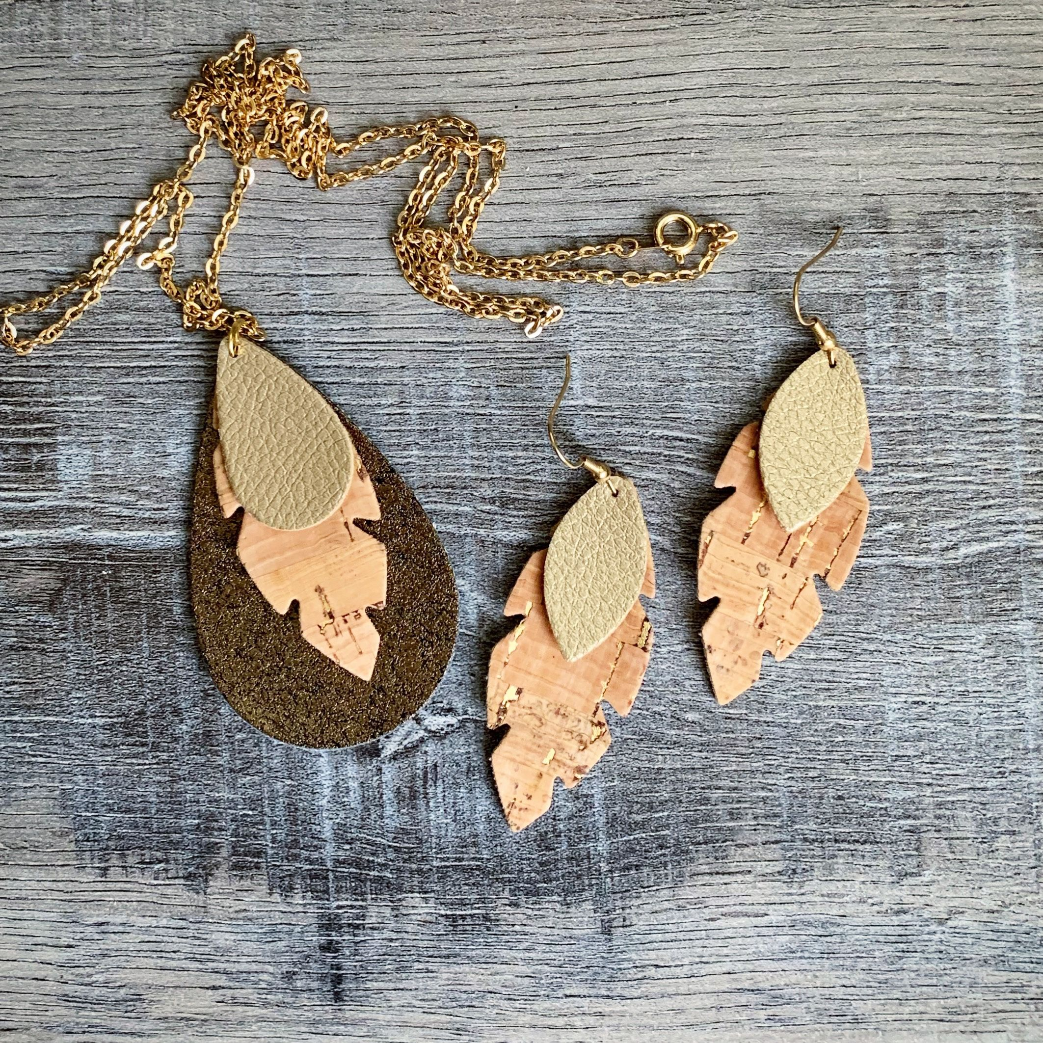 Photo of Faux Leather Handmade Jewelry