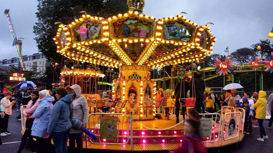 Carnival Merries Roseoftralee Tralee Festival Funfair Carousel Carnival Ig Ireland Insta Ireland Discoverireland Fun Fair Festival Tralee