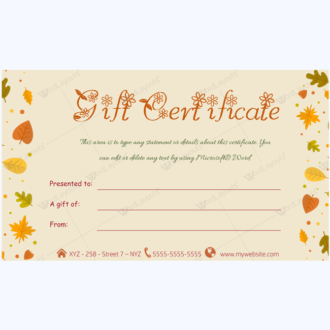 Gift Certificate Voucher Template Adorable Gift Certificate 44  Pinterest  Gift Certificate Template Gift .