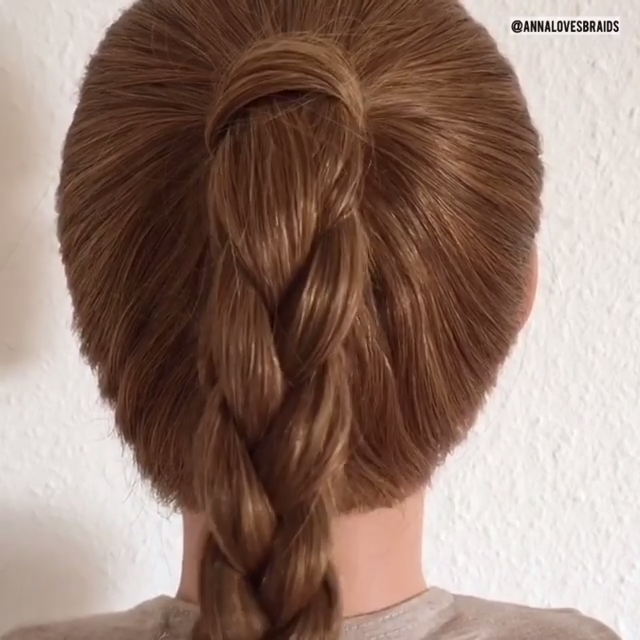 Dutch Braid Hair Tutorial #kidhair