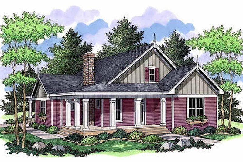 Farmhouse Style House Plan 3 Beds 2 Baths 1811 Sq Ft Plan 51 349 Homeplans Com Country Style House Plans Cottage House Plans Farmhouse Style House Plans
